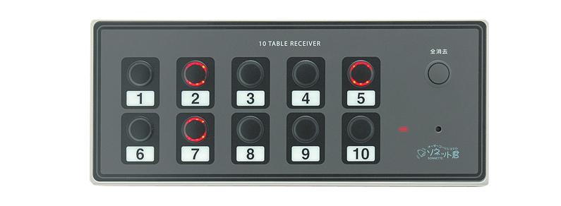 10テーブル受信機 SRE-10